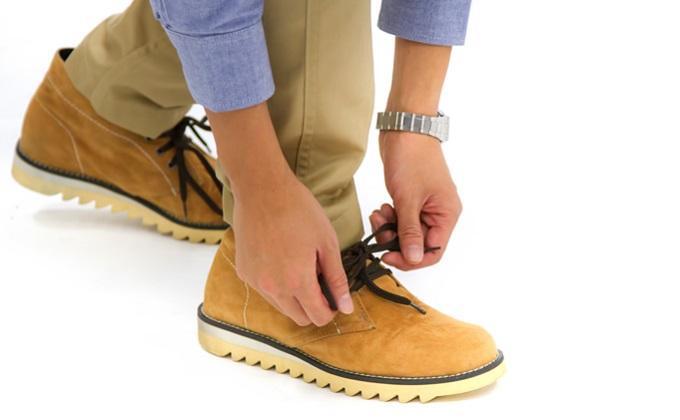 靴ひもを結び歩き出そう!