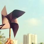 折り紙の風車