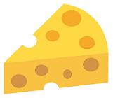 穴だらけのチーズ