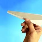 紙飛行機を飛ばそう