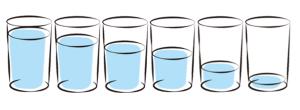 六つ子グラス