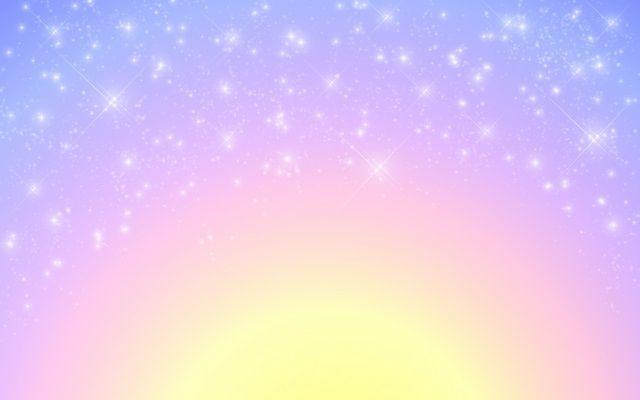 パステルの夜空