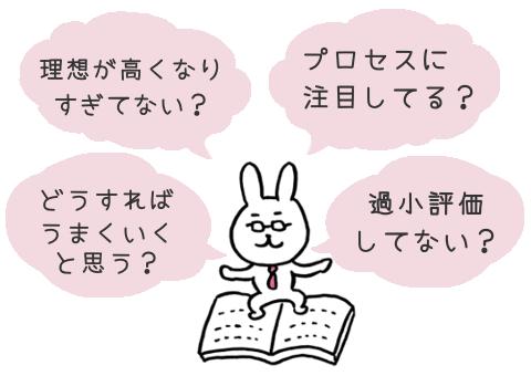 チェックポイント(うさぎ先生)