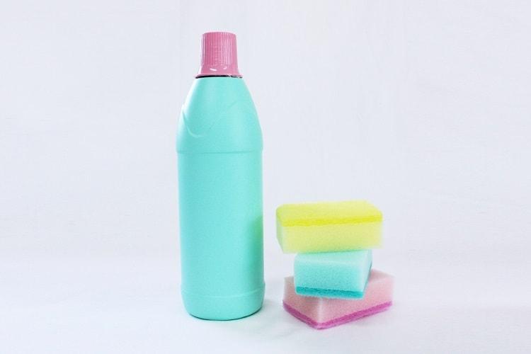 漂白除菌用の掃除道具